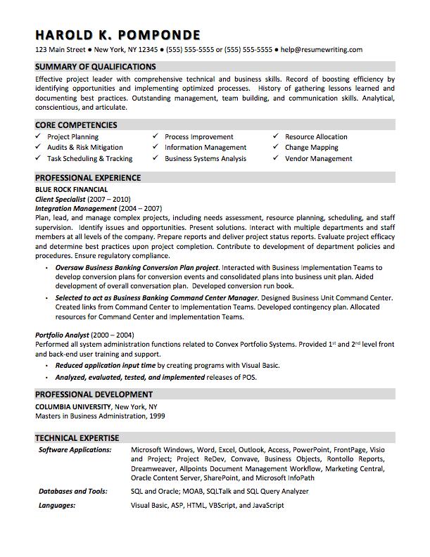 Best Affordable Resume Service - Sample 3