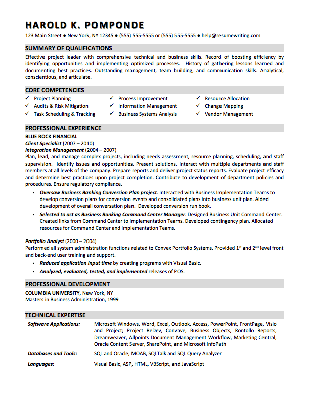 Inexpensive resume writing service