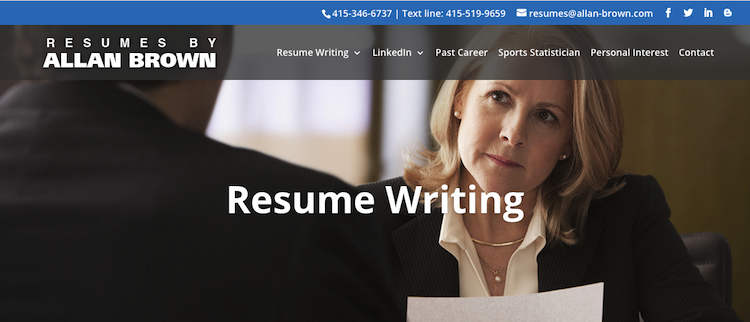 Resumes By Allan Brown - Best San Francisco Resume Service