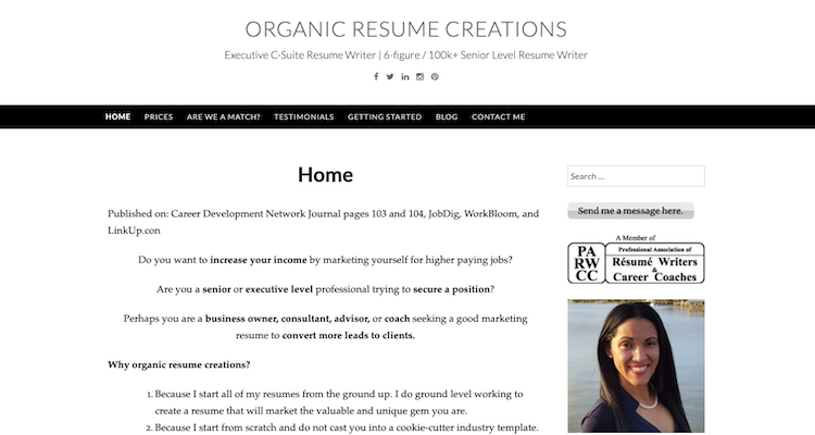 Organic Resume Creations - Best Miami Resume Service