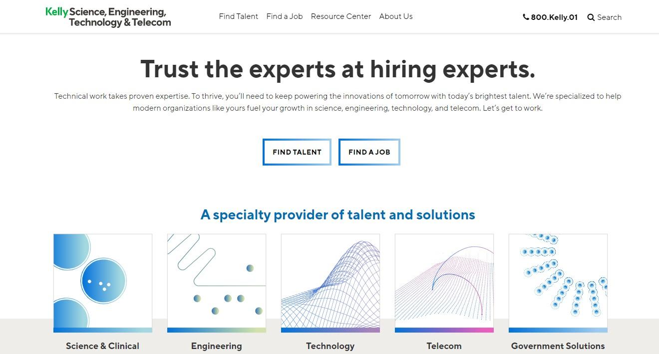 Kelly Engineering - Best Engineering Staffing Agency