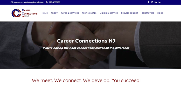Career Connections NJ - Best New Jersey Resume Service