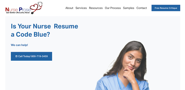 Nurse Prose - Best Nursing Resume Service