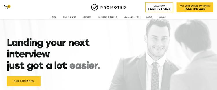 Promoted - Best Phoenix Resume Service