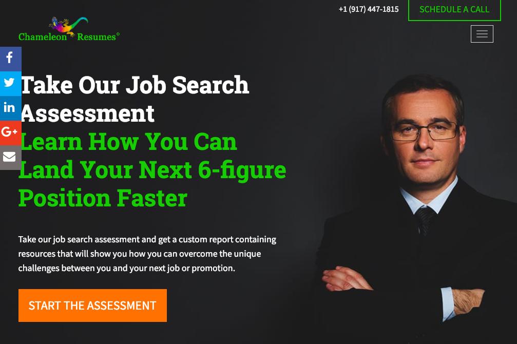 Chameleon Resumes - Information Technology Resume Services