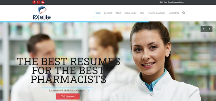 RxElite Resumes - Best Pharmacist Resume Services