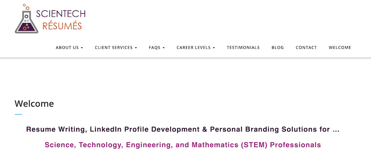 Scientech Resumes - Best CTO Resume Service