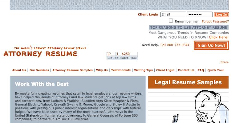 Attorney Resume - Best Legal/Attorney Resume Service
