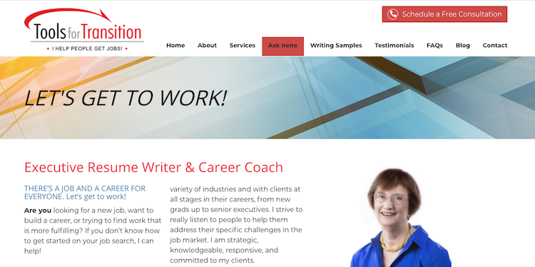 Tools for Transition - Best San Jose Resume Service