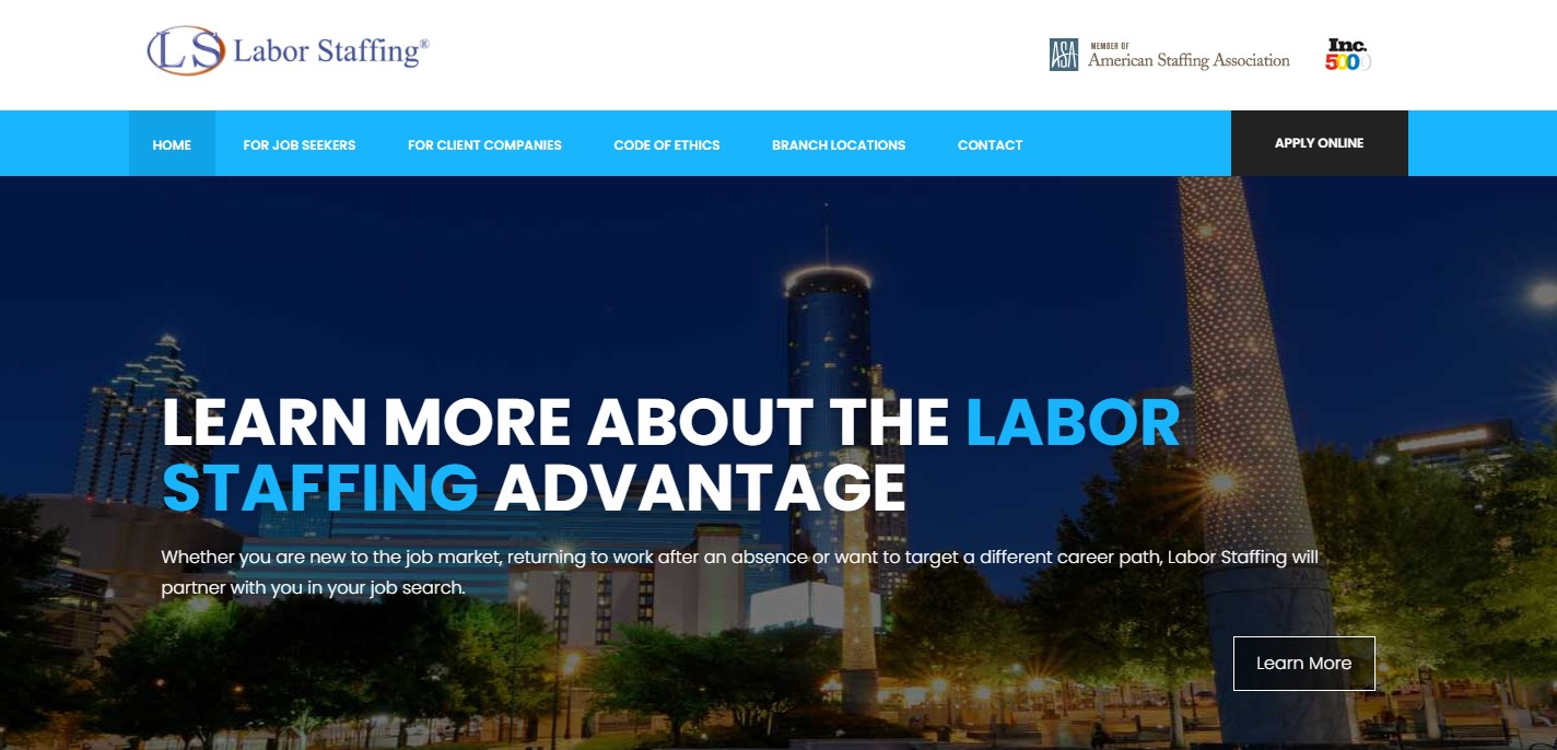 Labor Staffing - Best Atlanta Staffing Agency
