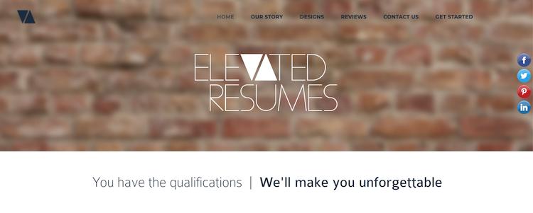 Elevated Resumes - Best Boston Resume Service