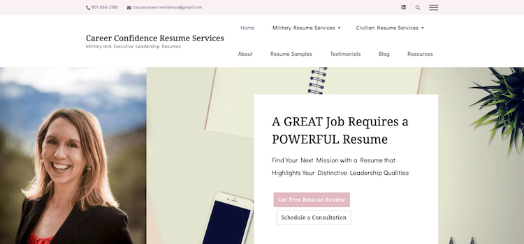 Career Confidence Resume Services - Best Military to Civilian Resume Service