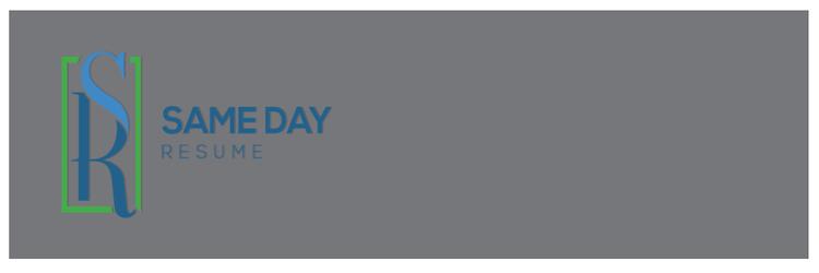 Same Day Resume - Best Fast Turnaround Resume Service