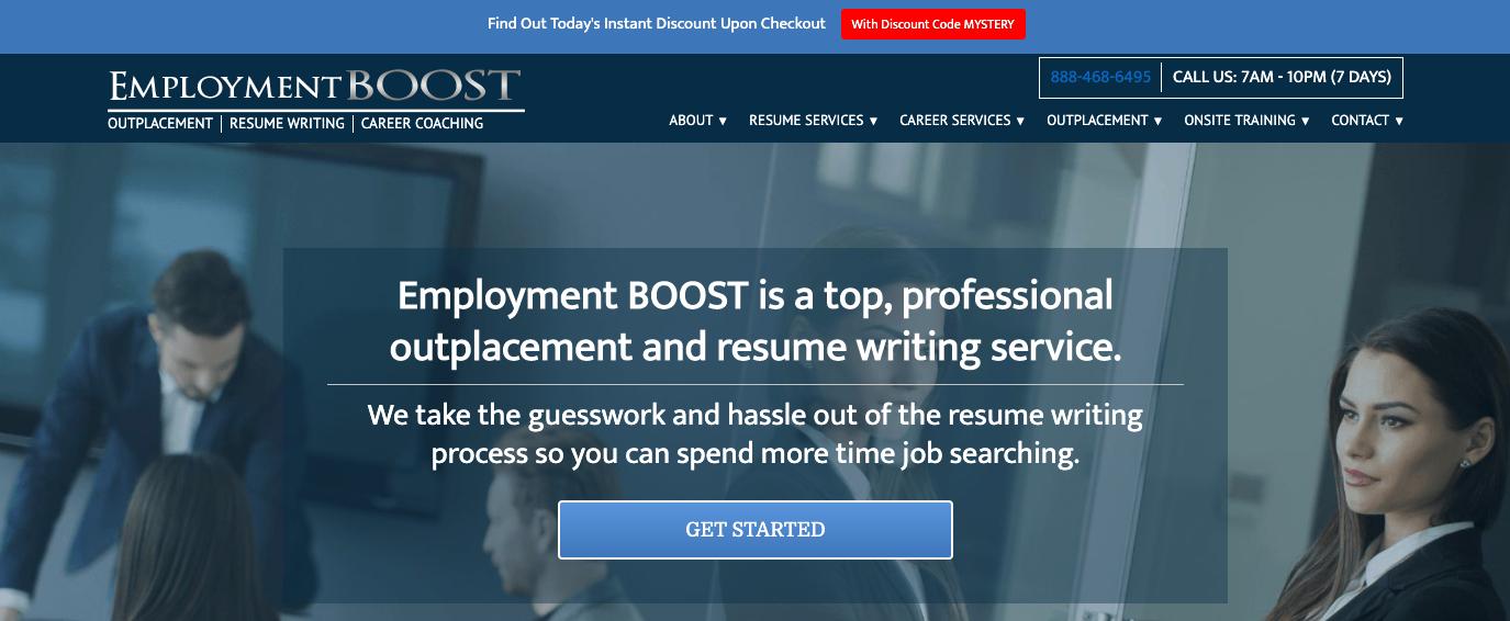 EmploymentBoost - Best Affordable Resume Service