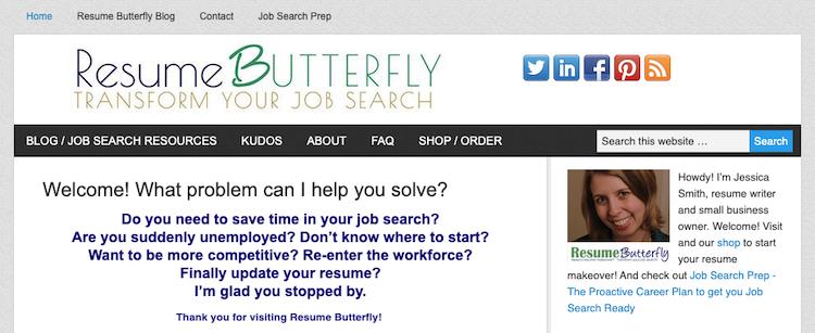 Resume Butterfly - Best Recent Graduate Resume Service