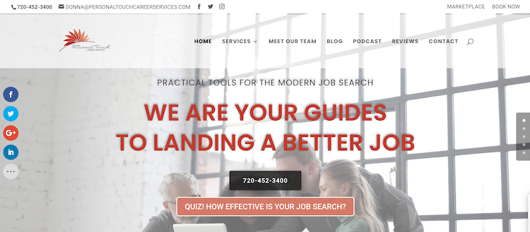 Personal Touch Career Services - Best Denver Resume Services