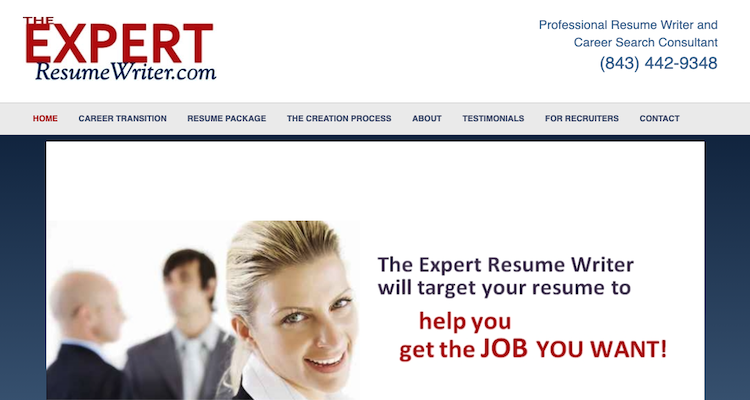 Expert Resume Writer - Best Charleston Resume Service