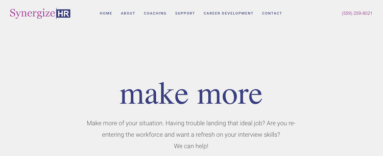 Synergize HR - Best Fresno Resume Service