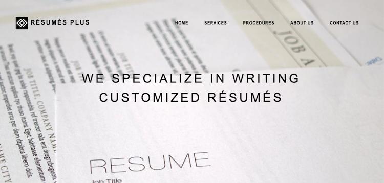 Resumes Plus - Best Boston Resume Service