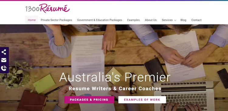 1300 Resume - Best Melbourne Resume Service
