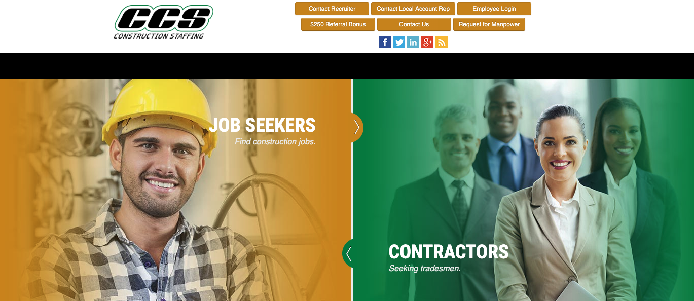 CCS Construction Staffing - Best Charlotte Staffing Agencies