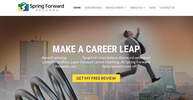 Spring Forward Resumes