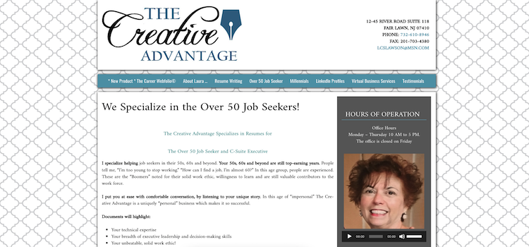 The Creative Advantage - Best Resume Service for Older Workers