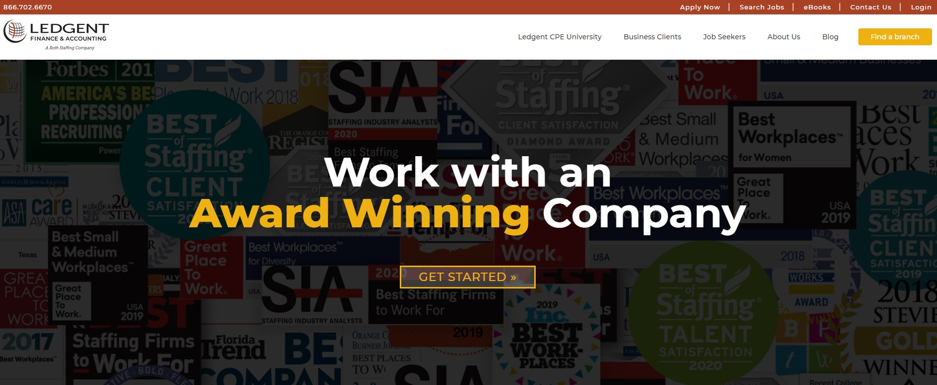 Ledgent Finance & Accounting - Best San Diego Staffing Agency