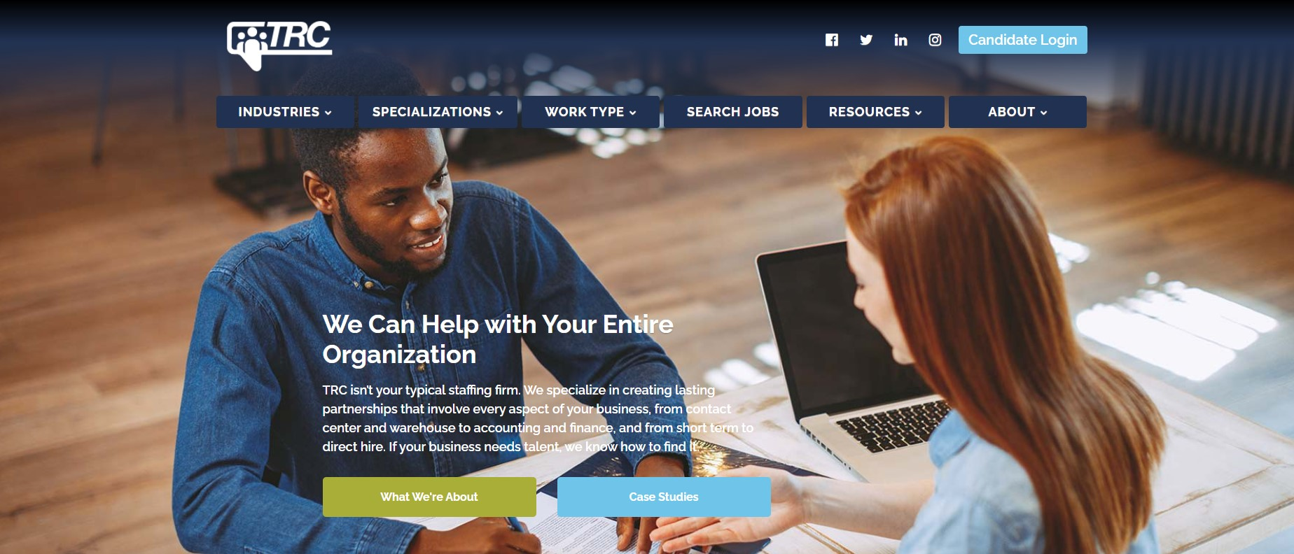 TRC Staffing Services - Best Atlanta Staffing Agencies