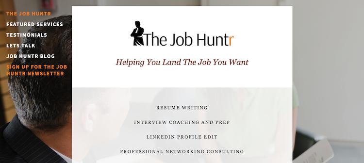 The Job Huntr - Best Sacramento Resume Service