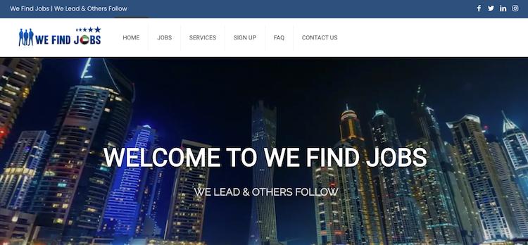 We Find Jobs - Best Dubai Resume Service