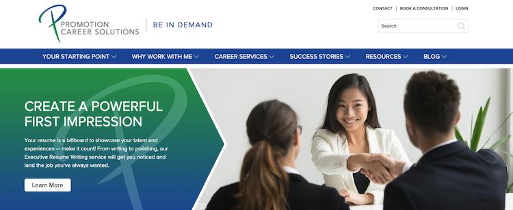 Promotion Career Solutions - Best Ottawa Resume Service