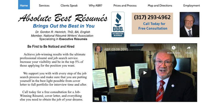 Absolute Best Resumes - Best Indianapolis Resume Service