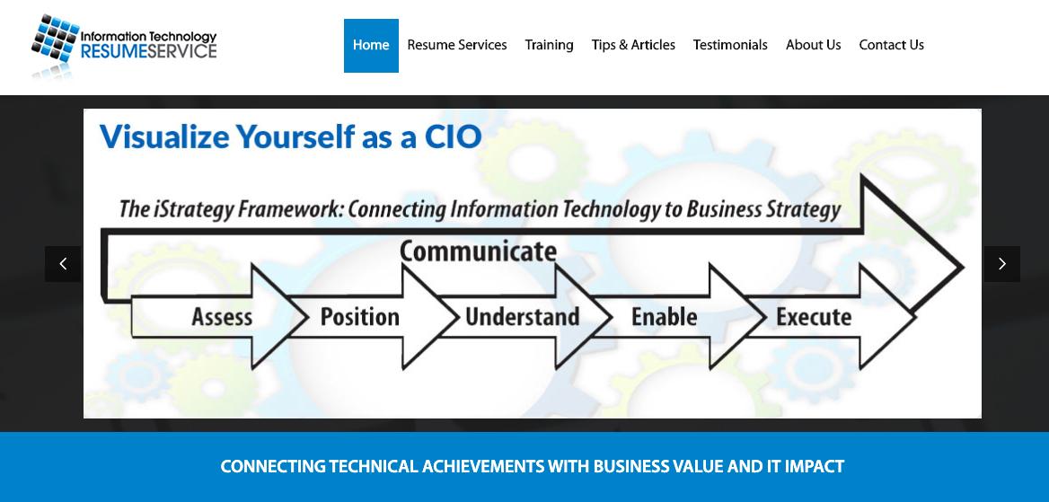 Information Technology Resume Service - Information Technology Resume Services