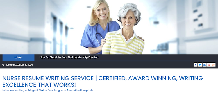 Nurse Resume Writing Service - Best Nursing Resume Service