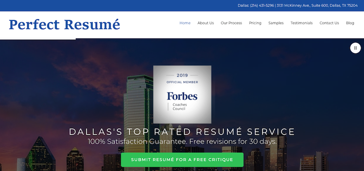 Perfect Resume - Best Fort Worth Resume Service