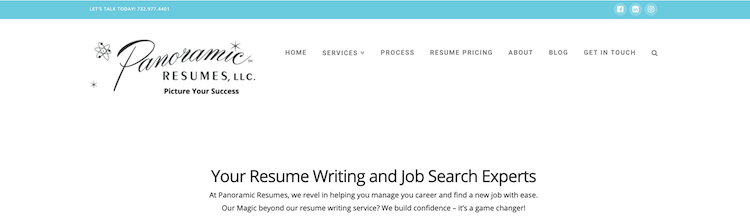 Panoramic Resumes - Best New Jersey Resume Service