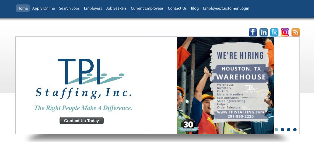 TPI Staffing - Best Staffing Agency