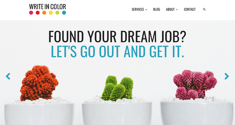 Write In Color - Best Los Angeles Resume Service