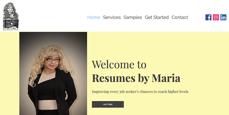 Resumes by Maria - Best Business Owner Resume Service