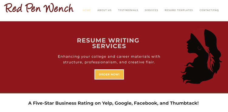 Red Pen Wench - Best New York City Resume Service