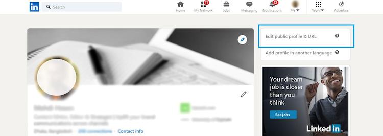 How to Edit LinkedIn URL