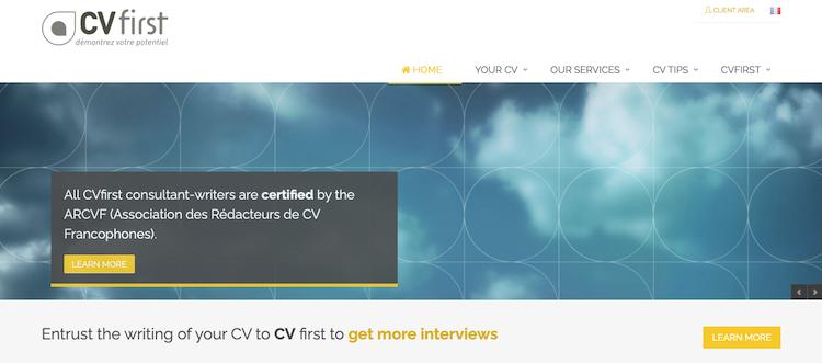 CVfirst - Best Paris Resume Service