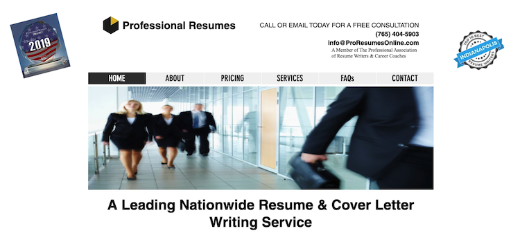 Professional Resumes - Best Indianapolis Resume Service