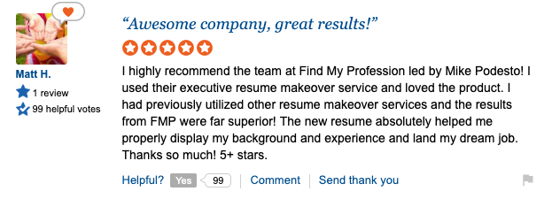 Find My Profession Review Sitejabber