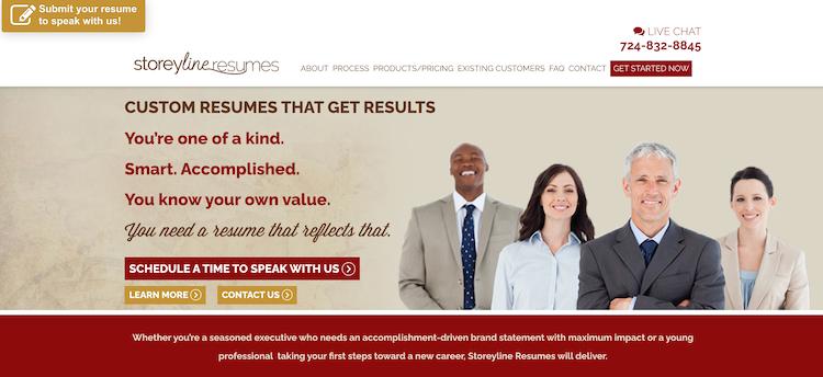 Storeyline Resumes - Best C-Level Resume Service