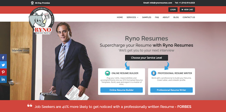 Ryno Resumes - Best St. Louis Resume Services