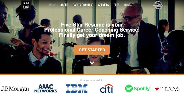 Five Star Resume - Best New York City Resume Service