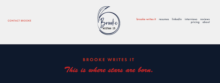 Brooke Writes It - Best Colorado Springs Resume Service