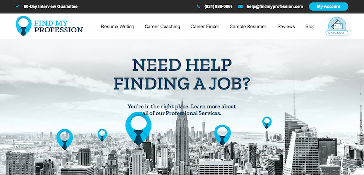 Find My Profession Resume Services
